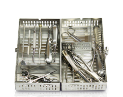 medium surgical dental cassette