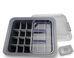 dental supplies outside 90% range stored in zirc tubs
