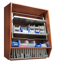 dental operatory 30in sterilization hydraulic cabinet